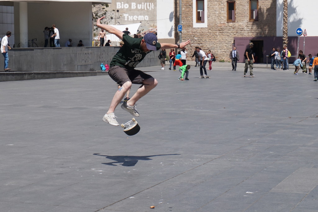 Macba - skateboarding hotspot